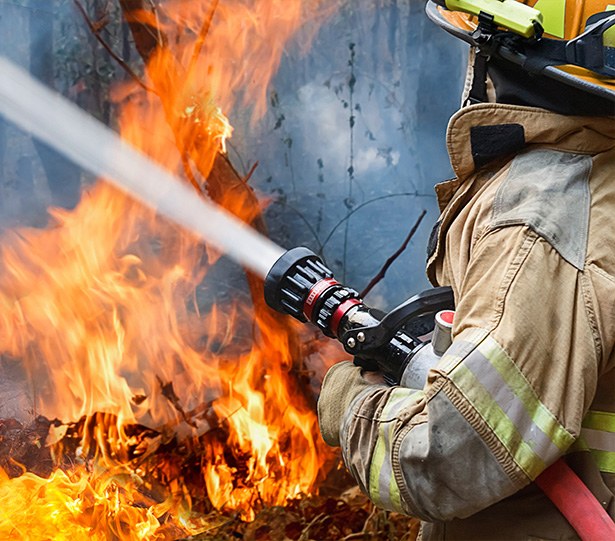 WHAT TO DO IF A BURN CAUSES A FIRE